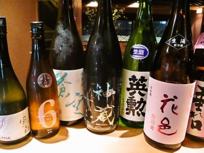 日本酒が好きな方、歓迎します!