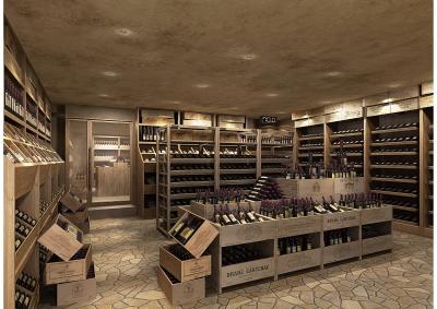 高級なワインも取り扱います。