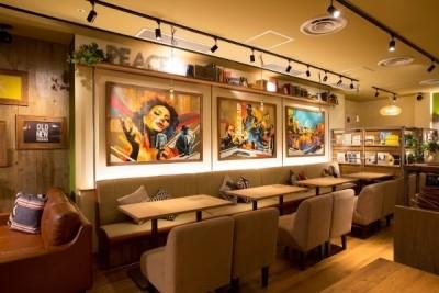 食に音楽・アート・カルチャーを融合させ、楽しくて心地良い空間づくりにも力を入れた会社です。