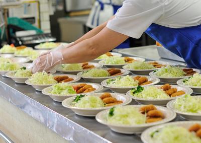 安全な食事を提供し、利用者の皆さんの健康を守りましょう◎