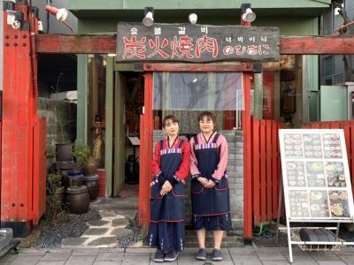 「黒毛和牛×秘伝のタレ」を天然備長炭で焼きあげる焼肉が大人気のお店です☆