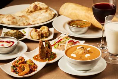 北インド料理と南インド料理の両方をご提供しているインド料理店です。※写真は既存店のもの