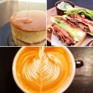 スペシャリティコーヒーとハンドメイドのホットサンドやスイーツを女性1人でも楽しめるコーヒー専門店です