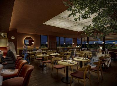 開放感あふれるルーフトップバーのようなレストランが誕生!2021年8月OPEN予定です◎