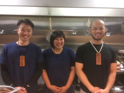 福岡市内、博多駅前・七隈・西新の濃厚豚骨醤油ラーメン店「無邪気」で新たな仲間を募集します!