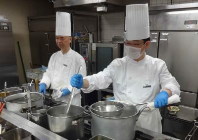 株式会社帝国ホテル100%出資。3施設でキッチンスタッフ募集。