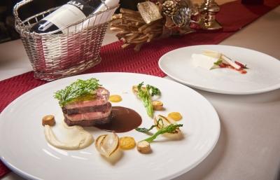 贅沢で洗練されたイタリア料理の『サロットカンティコ』