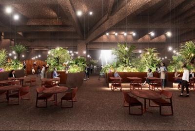 サービススタッフ大募集!ワンフロアにグランメゾン・ダイニング・バー・ショップの4業態が集結します。