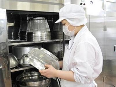 創業50年をこえる給食サービス専門の企業なので安定した働き方ができます。