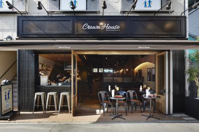 新業態の『Crown House』はカフェダイニング。フルサービスのお店です。