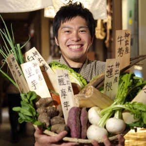 """""""地産地食""""がコンセプト!農家さんの収益を増やしていく「リファーム事業」にもチカラをいれています。"""
