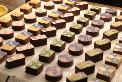 「ショコラ雅」美しい日本の季節をイラストで表現した華やかなショコラ