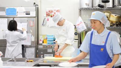 2019年3月1日「千葉事業所」を新設!受託先増加にともない、調理師を増員募集します。