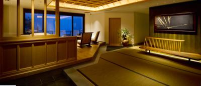 眼下に広がる相模湾や熱海の奥座敷を満喫できる、瀟洒な旅館