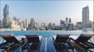 タイ・バンコク市内にある5つ星ホテルでの営業です!今年の秋にオープン!