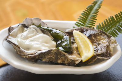 広島名産の牡蠣