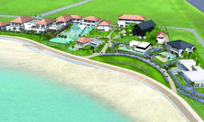 海に面した開放感あふれるウェディングリゾート。
