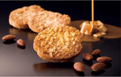 ラスクは、独自ブレンドの小麦粉などこだわりの原料を使用して、すべてグループの自社工場で行います。
