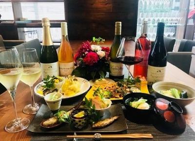 2018年8月、西新橋にオープンした、低糖質和食とワインのお店です。