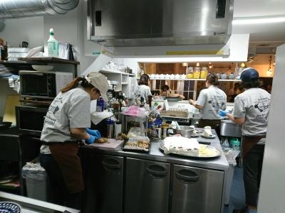 大阪・阿倍野にある隠れ家的カフェ&バーで、調理スタッフとしてご活躍を!