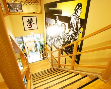 店舗の内装やオリジナルメニューにより、地域に根ざした店づくりを実現!
