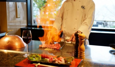伊豆・北川温泉にある、大人の隠れ家的なリゾート旅館でキッチンスタッフを募集します!