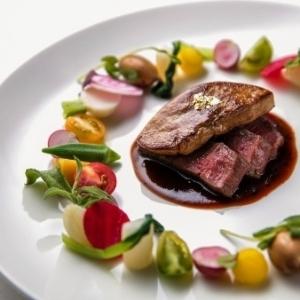 フレンチと和のテイストを加えたフレンチジャポネの、華麗な料理の数々