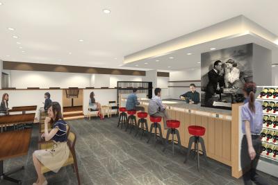大阪ベイタワーイースト内にある3店舗は、全90席の和食店にリニューアルオープンします。