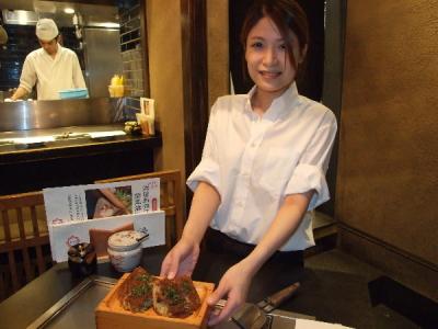 2017年4月にオープンしたばかり!「鶏鉄板料理 かしわ」でホールスタッフ募集!