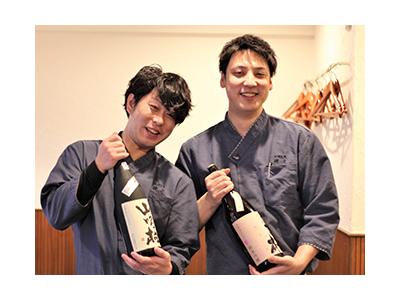 常時150種以上の日本酒を取り揃える『和酒旬菜 縷々』で、一生モノの接客スキルを手に入れよう!