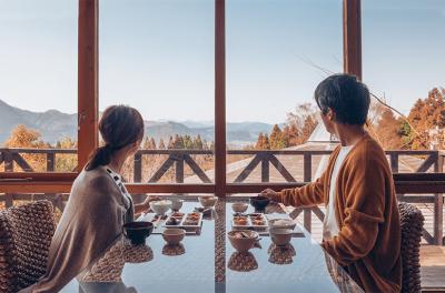 多くのお客様にご好評いただいている絶景を眺められる温泉を完備した大分・熊本の旅館◎
