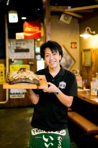 二村本部長「当社の魅力はこんなところ!だから飲食店は面白い!」