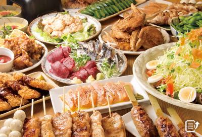 全国で展開中の串焼き料理が自慢の居酒屋チェーン!和歌山県の店舗でご活躍を!※画像は他エリアのスタッフ