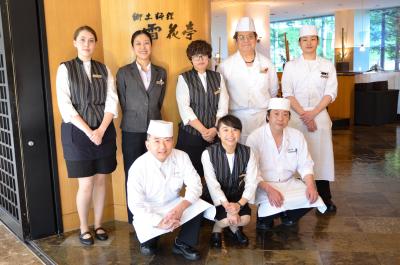北海道を代表するリゾート施設。ホテル内和食レストランで、未来の料理長を募集!