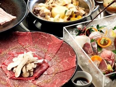 長崎県の新鮮な魚介類やお肉をふんだんに使ったお料理で、ゲストをおもてなしください。