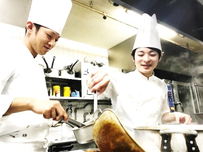 成田・大阪・別府にあるホテルで、調理スキルにさらにみがきをかけよう