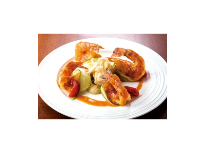 地元の食材をふんだんに使用したお料理が自慢です。