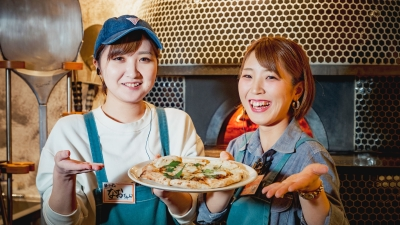メニューは、沖縄食材を使ったカジュアルフレンチ