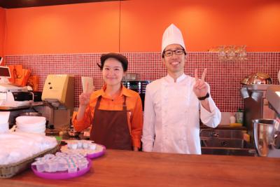 当店は、神戸の人気観光エリアである北野異人館に軒を連ねています。