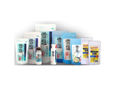 宮古島の自然の恵みから生まれた「宮古島の雪塩」。この塩を使った食品を製造販売しています!