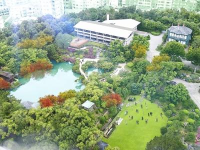 2019年1月、6,000坪の美しい日本庭園に『THE SORAKUEN』がオープン。