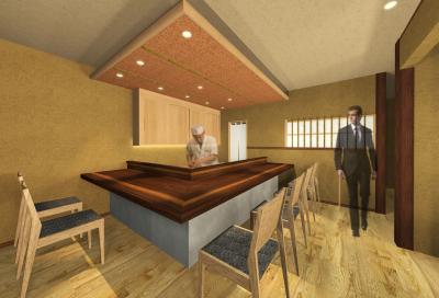 客単価6千~1万円前後の創作日本料理店。「大人の隠れ家」のような落ち着いたお店をつくりましょう。