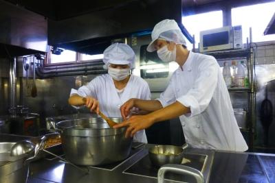 大量調理の経験がなくても大丈夫!他業態からの転職者多数!
