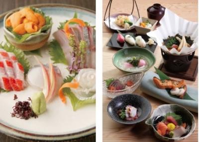 産地直送の海の幸、山の幸をふんだんに使った料理を提供しています。