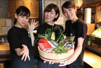 旬の魚介をつかった魚料理と日本酒が自慢!福岡市内に展開する「磯ぎよし」3店舗で募集!