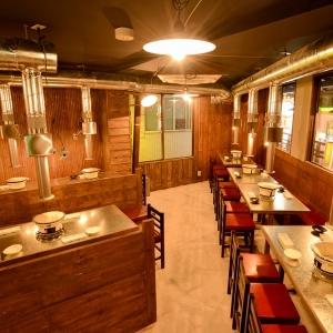 昭和30年代のレトロな雰囲気が味わえる、七輪の炭火で味わうホルモン専門店で店長へ!