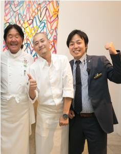 「小さな結婚式」は、あのフレンチの鉄人・坂井宏行が監修/顧問を務めています。