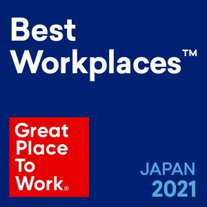 2021年度働きがいのある会社ランキング10位に選ばれました!(外食では過去最高位)