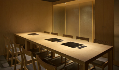 高級日本料理店でありながら、スタイリッシュな店内もご好評いただいております!