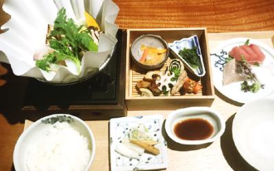 2018年4月にオープン1周年を迎える日本料理店。